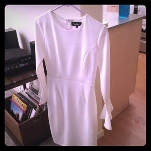 Great quality White Lulus dress!
